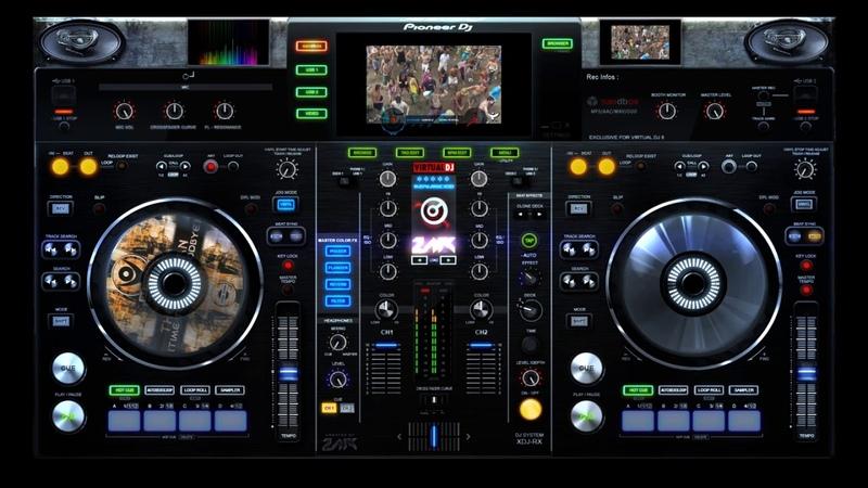 Dj Visage Dance Club mix video Ozora Festival preview to party²