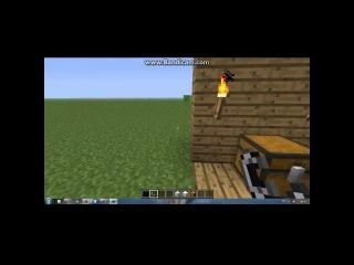 Minecraft 1.4.7:как построить портал+создать 2 существа.