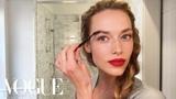 Model Hannah Ferguson's Guide to Her Magic Matte Red Lip Beauty Secrets Vogue