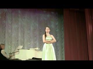 Софья Шех Песня Ольги из оперы