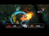 Teamwipe by LGD vs Fnatic @ HyperX D2L
