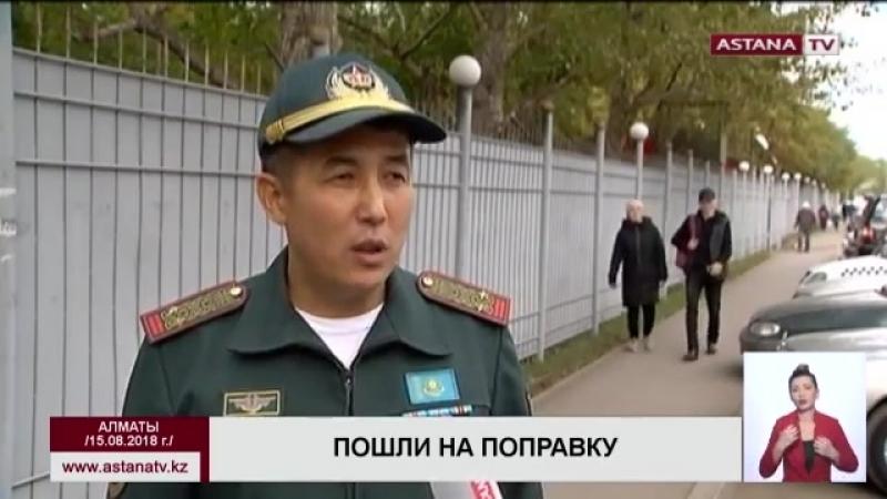 В военном госпитале Алматы начали выписывать солдат, пострадавших от взрыва на п