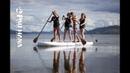 На сапе Giant iSUP в Новой Зеландии Pau Hana Oahu Nui