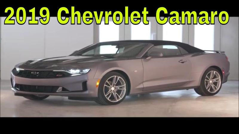 2019 Chevrolet Camaro | Genel Bakış iç dış tasarım tanıtımı