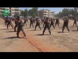 Сирия парад новобранцев САА прошел в Хасаке