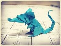 Схема сложна в исполнении, лично я потратил на нее 2... Сегодня я хочу предложить вам схему оригами Крыса.