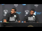 NEW BROOKLYN NETS PLAYERS Brandon Davies and Darius Morris meet the media