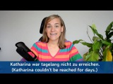 German Lesson (178) - Adverbs of Time - Part 5 f
