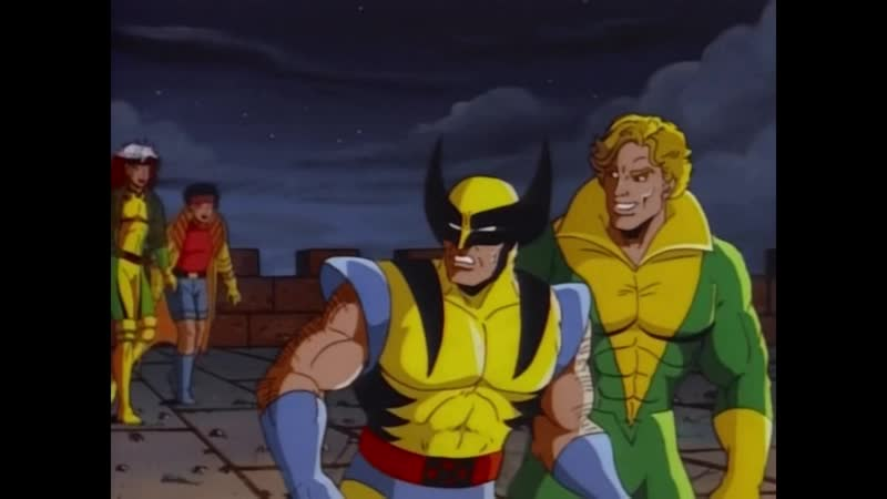 Люди Икс 1992 3 сезон (1-9 серии)
