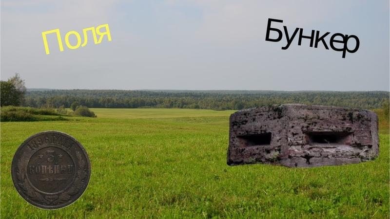 Коп в полях 3 копейки Николая ( Нашел Бункер )