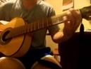Борис Моисеев и Николай Трубач Голубая луна кавер на акустической гитаре
