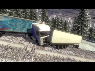 "Euro Truck Simulator 2 Unfallbilder ""Crash'n'fail"" + Mod & Download link"