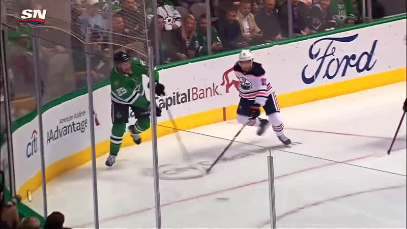 Mattias Janmark's Stick Explodes While Setting Up Jason Dickinson's Goal I PAVLOV