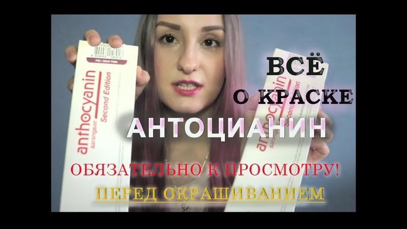ANTHOCYANIN 10 Самых Важных Правил Цветные Волосы с Антоцианин Как Красить ALONA