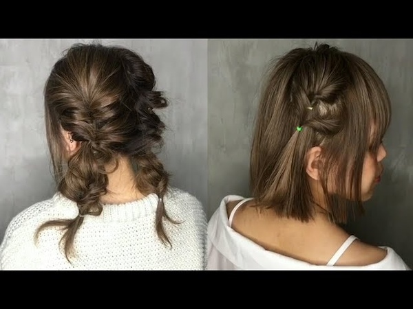 Top New Strange Hairstyles for Short Hair 😍 Short Hairstyles Tutorial