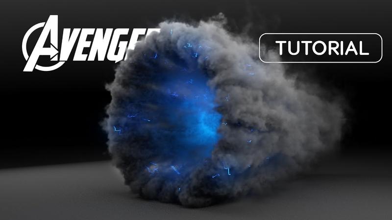 Thanos Portal VFX Tutorial (tyFlow Phoenix FD)