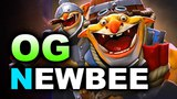 OG vs NEWBEE - TECHIES PICK!!! - EPICENTER MAJOR DOTA 2