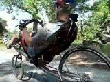 Riding The Reynolds T-bone Recumbent Bike
