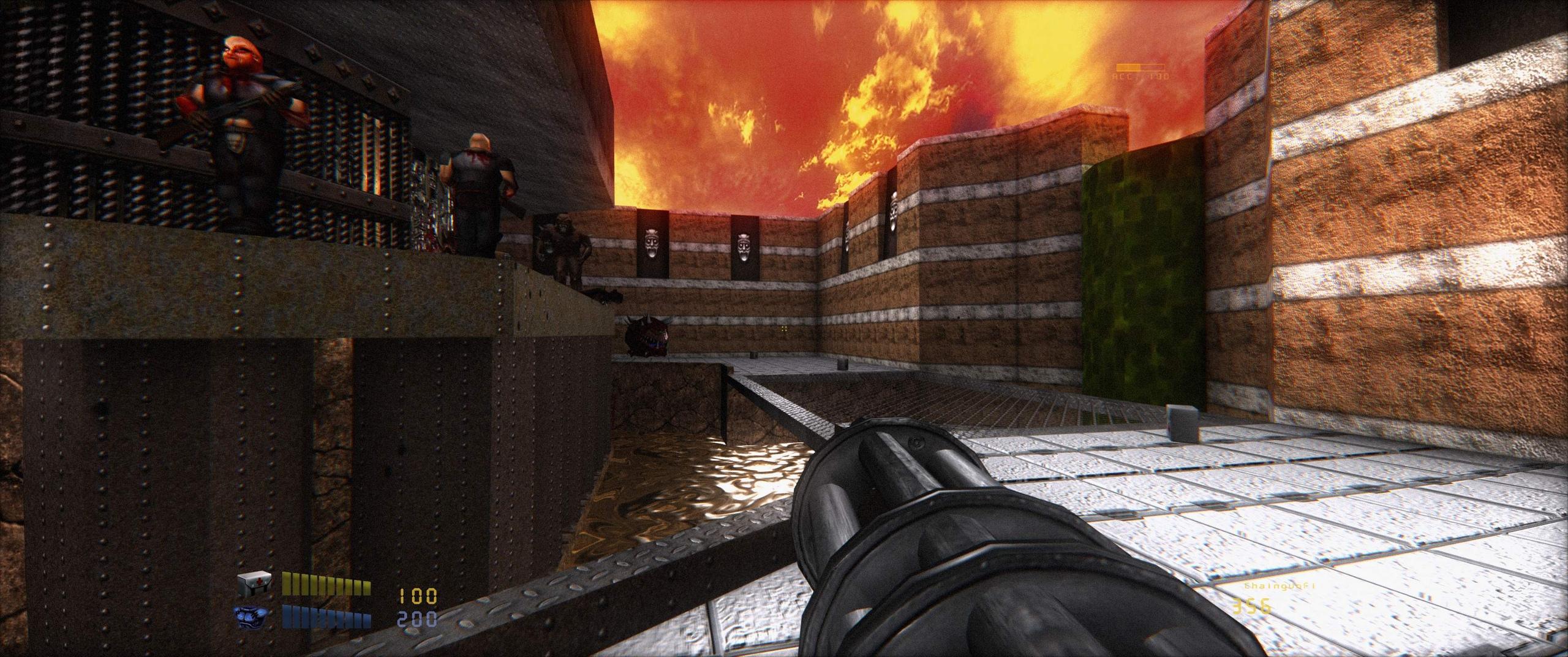 Doom Remake 4 - HD ремейк от vasyan777