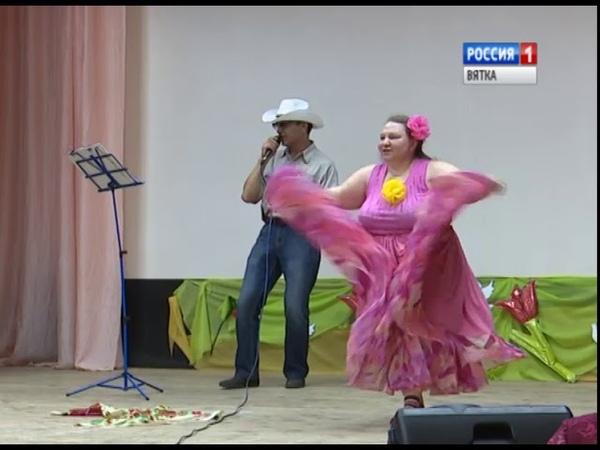 Инвалиды-колясочники провели концерт в доме-интернате для престарелых (ГТРК Вятка)