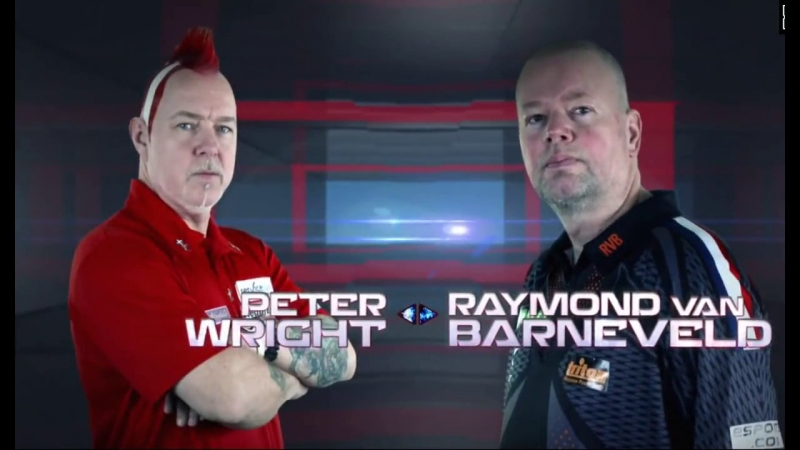 2018 Melbourne Darts Masters Quarter Final Wright vs van Barneveld