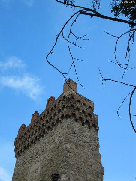 Крепость Каффы: башня Константина