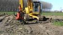 Komatsu PC200Rotor Stump removal