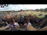 Первый Фестиваль Красок в Саратове - 2014 | Holi Festival of Colors 2014 - Russia/Saratov (Go Pro)