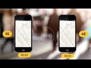 Тест скорости 4G «Билайн — загрузка карт