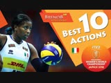 TOP 10 Best Actions by Miriam Sylla FIVB Womens WCH 2018