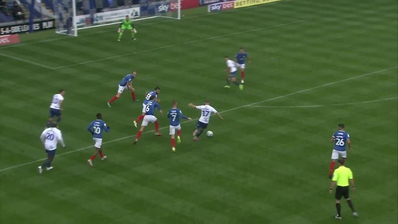 Лига 1 2018/19, тур 9. Портсмут 2-2 Уиком Уондерерс