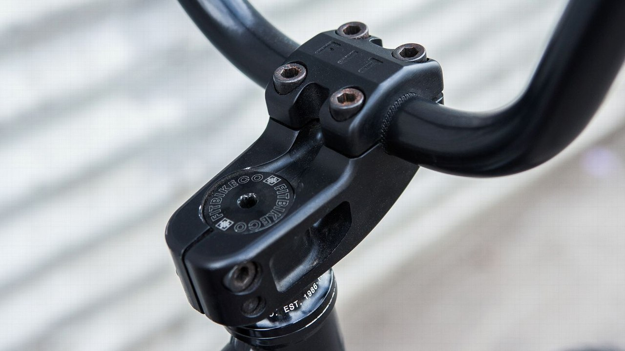 fit high-top stem bmx