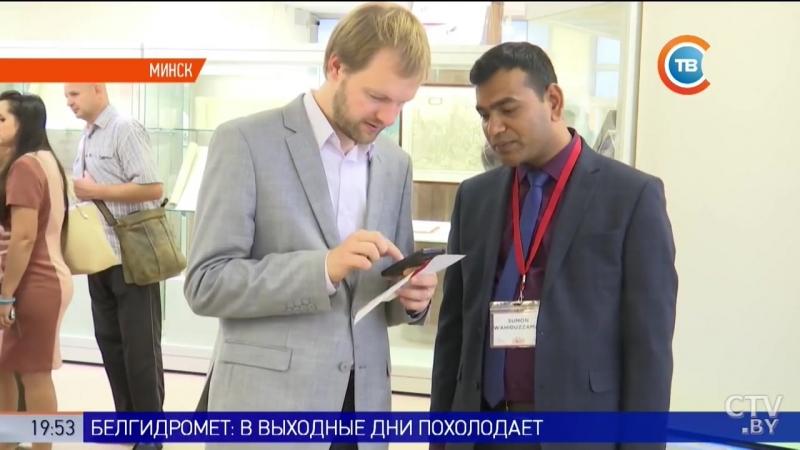 Рэпартаж тэлеканала СТВ пра выставу Беларусь і Біблія.
