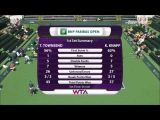 2014 Indian Wells Taylor Townsend vs Karin Knapp HD