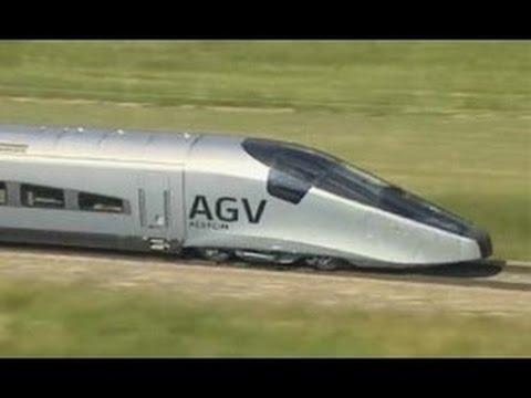 Мегазаводы Поезд Alstom