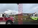 Самолет выкатился за пределы ВПП в Канаде