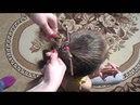 """Красивая прическа """"Коса с помощью карандаша"""" для средних и длинных волос♥"""