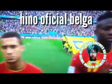 Hino oficial belga