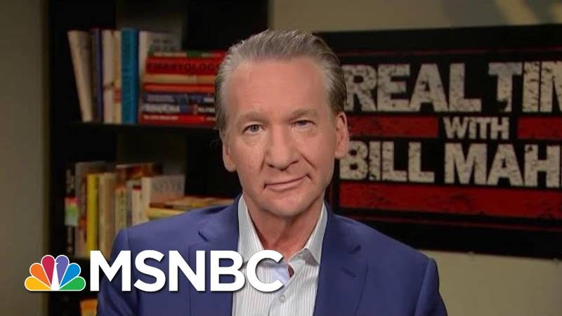 Bill Maher If We Don't Impeach President Donald Trump, Where Is The Bar | Hardball | MSNBC