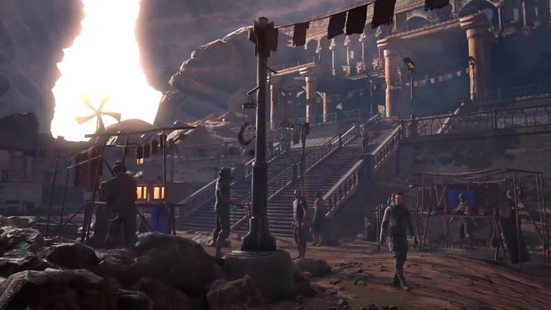 Техномансер Жизнь и смерть на Марсе \ The Technomancer - Life Death on Mars Trailer (1) киберпанк