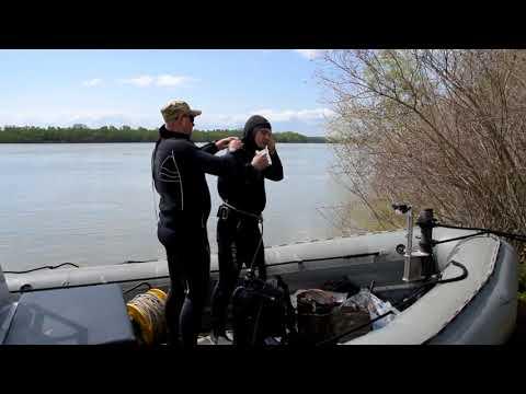 Прикордонники Ізмаїльського загону беруть активну участь у пошуку донних мін на річці Дунай