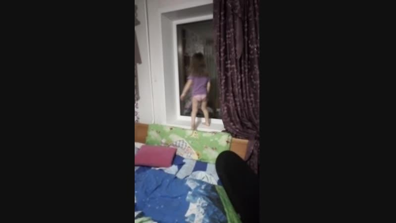 Евлалия Владиславовна показывает трюк!