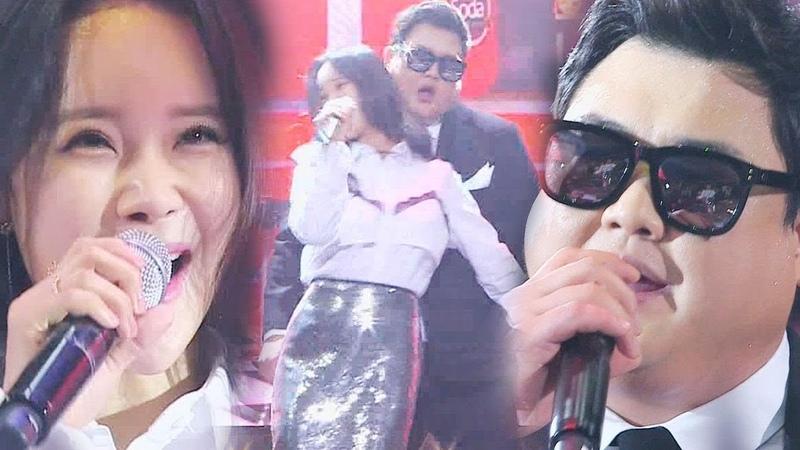 2017 Baek Ji-young - Candy in my ears - 김준현·백지영, 치명적인 유혹의 콜라보 '내 귀의 캔디' 《Fantastic Duo 2》 판타스틱 듀