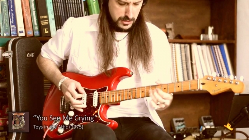 Aerosmith Guitar Cover - First era songs in 5 minutes! (Santiago Periotti)