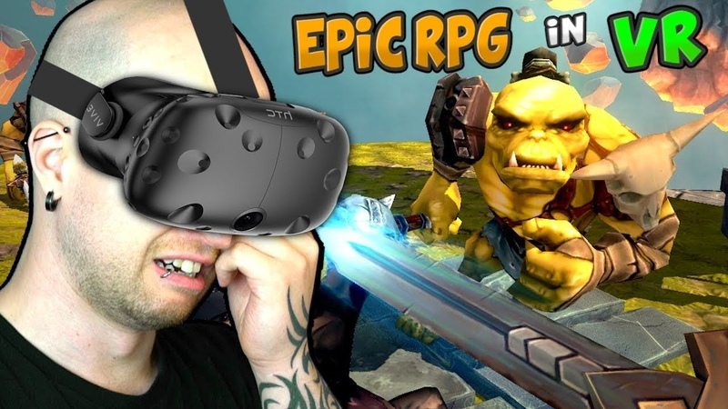 MY FAVORITE VR RPG!? | Trickster VR Co-op Dungeon Crawler (HTC Vive Virtual Reality)