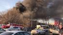 Пожар в Самаре на Ново-Садовой 09.04.18
