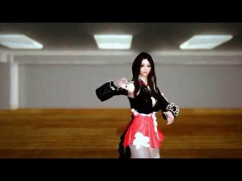 Skyrim dance Sweet Devil Live ver