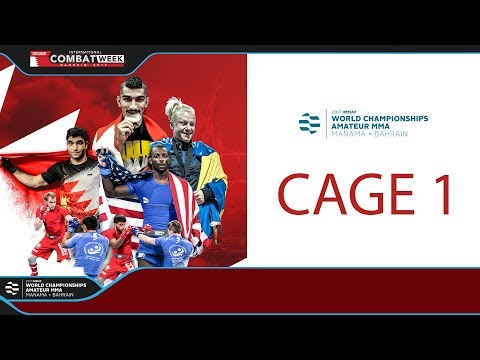 Day 2 - Cage 1 - World Championships Amateur MMA