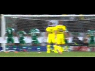 Nemanja Matic Goal Sporting 0 - 1 Chelsea UCL 2014