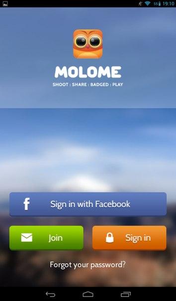 приложение MoloME